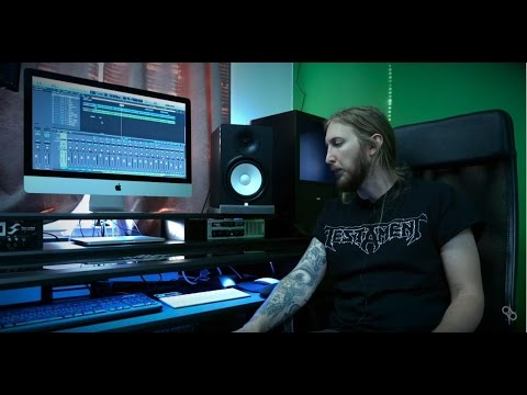 Setting up home studio with Beat desk by Ola Englund