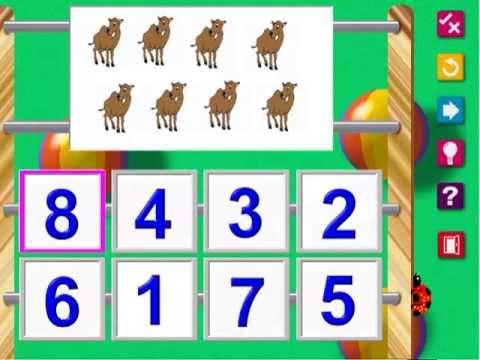 สอนและเล่นเกม วิชาเลข อนุบาล1
