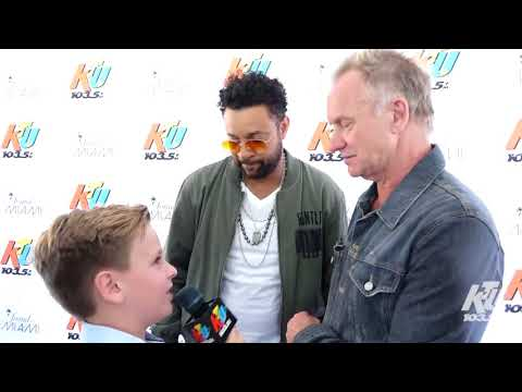 KTUphoria - Sting, Shaggy And The Backstreet Boys Get Interviewed By 9-Year-Old Fan