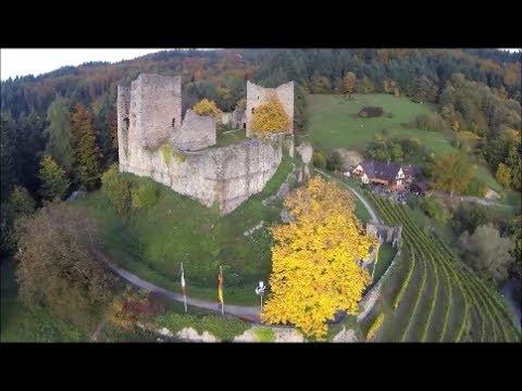 Videoflug über die Schauenburg in Oberkirch
