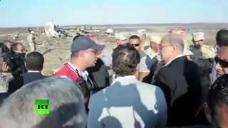 Крушение самолета в Египте (+18)(Скачать полное видео: http://goo.gl/EsB3t2 Крушение самолета в Египте, падение самолета в Египте, катастрофа россий..., 2015-11-01T21:41:21.000Z)