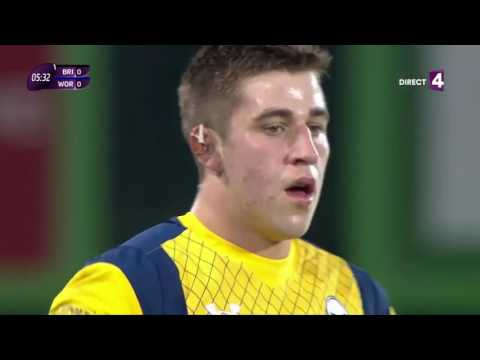 Brive vs Worcester Warriors   European rugby challenge cup   Full match