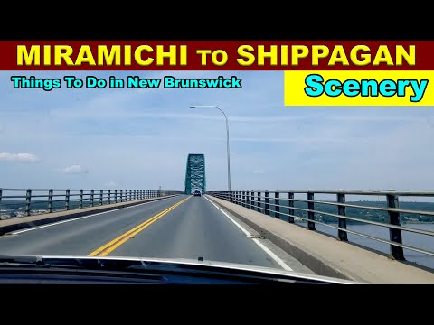 Miramichi To Shippagan Travel Scenery - Things To Do In New Brunswick