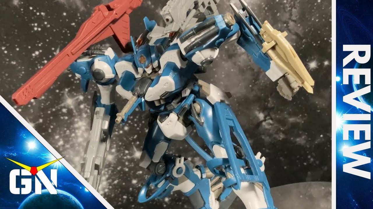 A Challenge For Regular Gunpla Builders Armored Core CR C89E Oracle Ver. | REVIEW