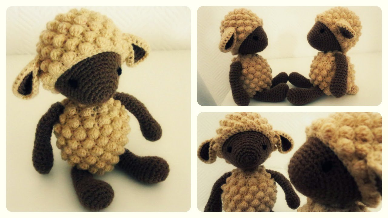 Crochet Sheep PATTERN - Amigurumi pdf tutorial - LISA the sheep ... | 720x1280