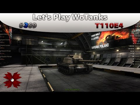 Let's Play World of Tanks - #369 T110E4 [HD|Bonus Codes|WGLGrandFinals|Deutsch]