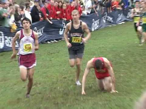 Dramatic finish at High School State Cross Country Championship