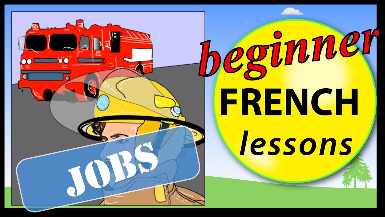 Jobs in French | Beginner French Lessons for Children - YouTube