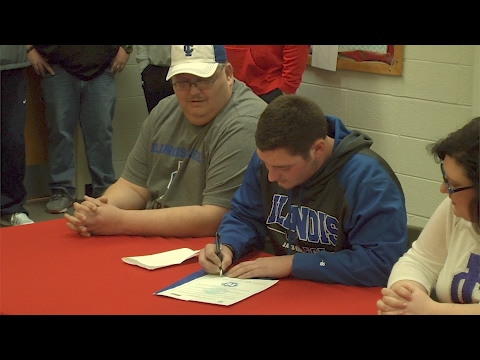 Central A&M's Peyton Denton Signs With Illinois College
