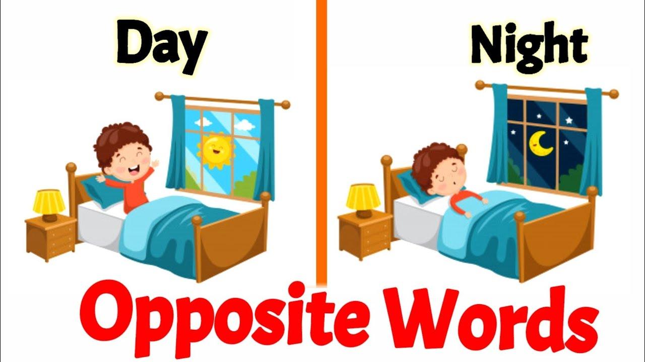 Opposite words | Opposite words in English | opposite words for preschoolers | Antonyms |opposites