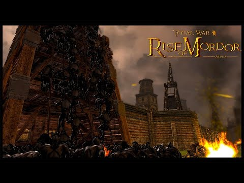 Sauron Destroys The Will Of Gondor - Rise Of Mordor Total War Gameplay