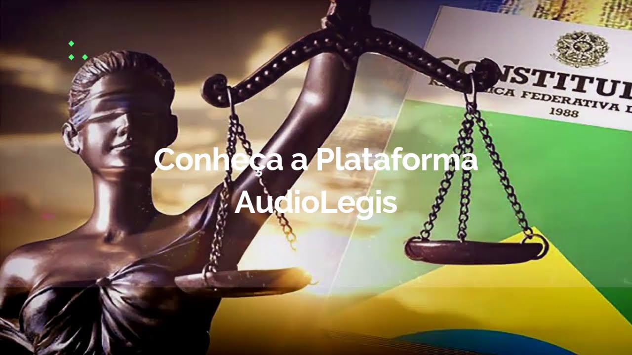 AudioLegis - Legislação em áudio, atualizadas e narradas com voz humana