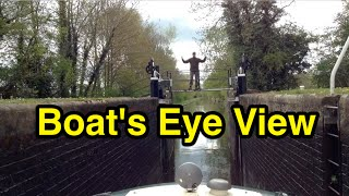 Canal Lock Onboard POV Time lapse!