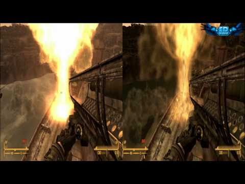 Fallout New Vegas Graphics Comparison : Ultra Vs Low 720p HD