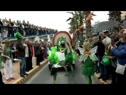St Patricks Day Cabo Roig 2013 Youtube
