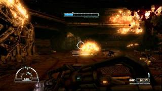Let's Play Aliens vs Predator (Marine) - It's fiery death for you!(P22)