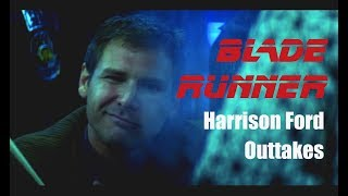 PARODY: Blade Runner 1982 Theatrical Cut Lost Harrison Ford Voice Over Takes