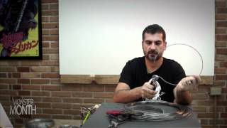 HOW TO BUILD WIRE ARMATURES FOR SCULPTING DESIGNS - MONSTER MONTH - PREVIEW 1