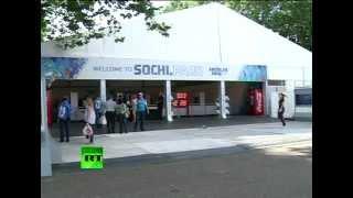Ледовое шоу в Sochi Park в Лондоне