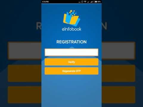 Canara Bank E infobook application registration procedure
