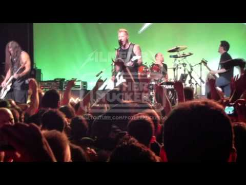Metallica with Jason Newsted Harvester of sorrow LIVE San Francisco, USA 2011-12-05 1080p FULL HD