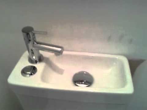 Toilet & Basin Combo Installation - YouTube