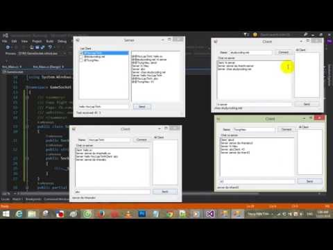 Multi Client Per On Server Socket C#