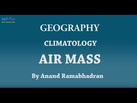Air Mass | Climatology | Geography | NEO IAS