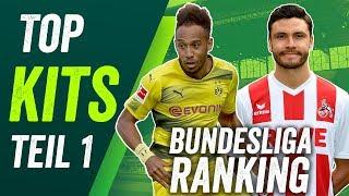 Bundesliga Trikot Ranking - Die Kits der Saison 2017/18 - Teil 1