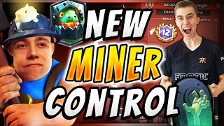 THIS MINER POISON CONTROL DECK DESTROYS EVERY GOLEM DECK IN CLASH ROYALE!