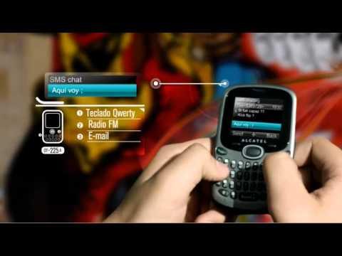 Comercial Alcatel OT-255A