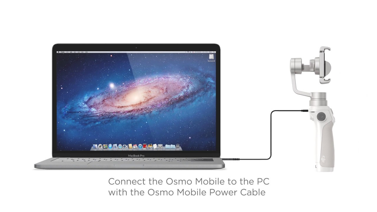 how to update firmware osmo mobile