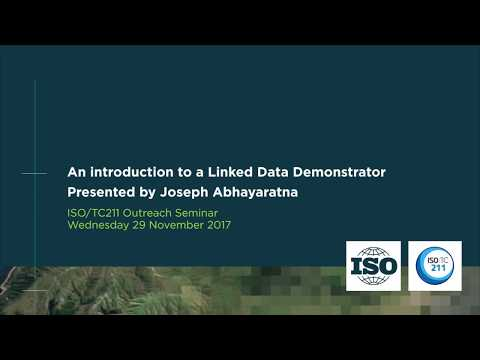 An Introduction to a Linked Data Demonstrator by Joseph Abhayaratna