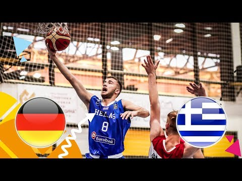 Germany v Greece – Full Game – FIBA U16 European Championship 2018