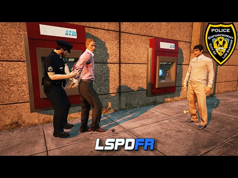 GTA 5 LSPDFR - Rude People at the ATM - Silly Cop Episode