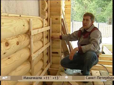 Монтаж вагонки на 1-ом канале от специалиста Вятского Дома