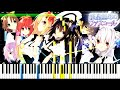 Juuou Mujin no Fafnir ED - Ray of Bullet | Piano Tutorial, 銃皇無尽のファフニール 【ピアノ】