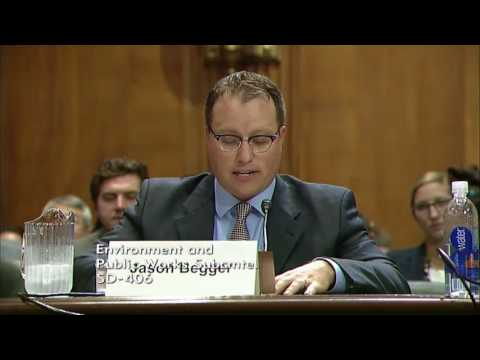 Senate Hears from Wyoming's Jason Begger on Deploying Clean Energy Technologies