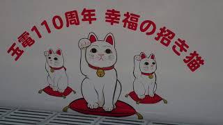 玉電110周年 幸福の招き猫 東急300系308F