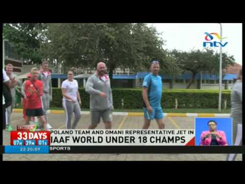 Poland team and Omani representatives jet in for the IAAF World U18 championships