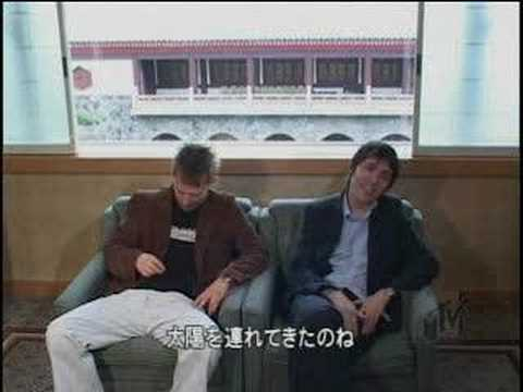 Thom Yorke and Colin Greenwood Summer Sonic 2003 interview