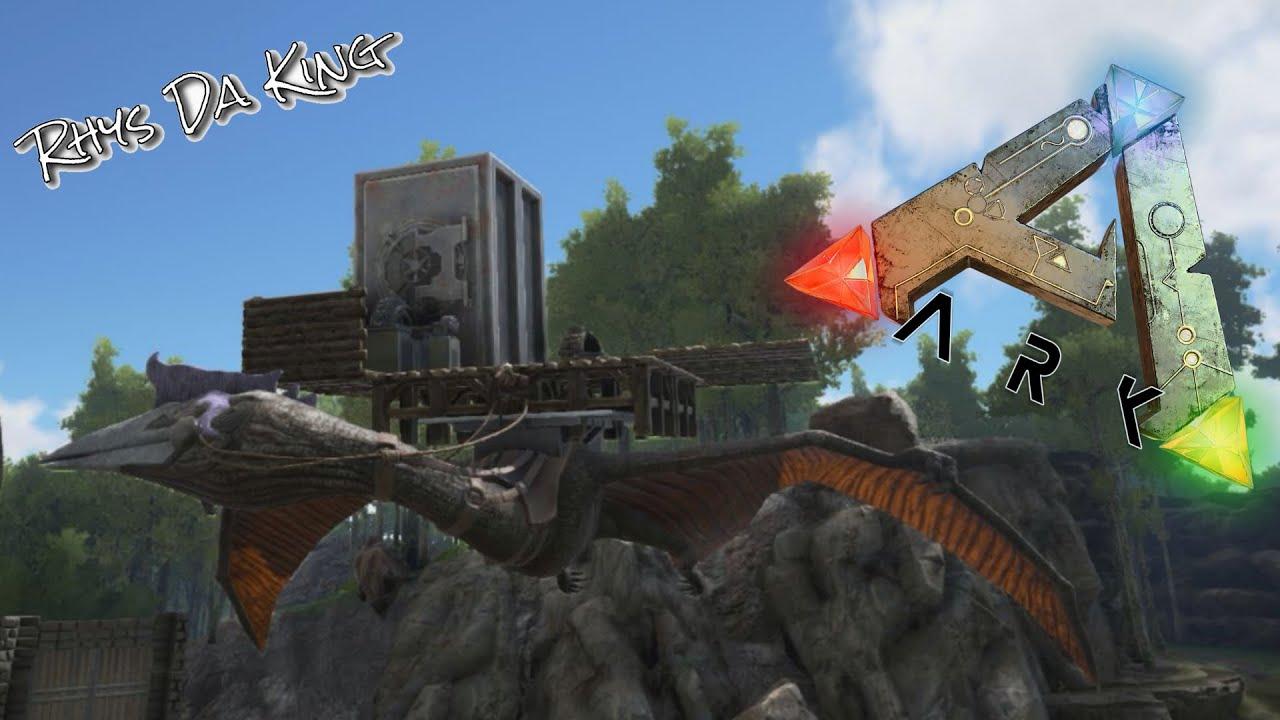 Ark survival evolved 35 quetzal flying base by rhys da king altdescription ark malvernweather Choice Image