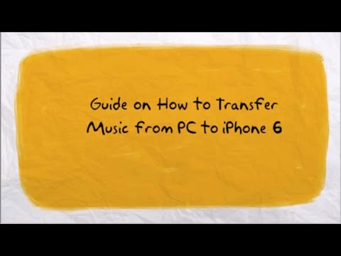 how to sync music from iphone to itunes how to transfer from pc to iphone 6 2245