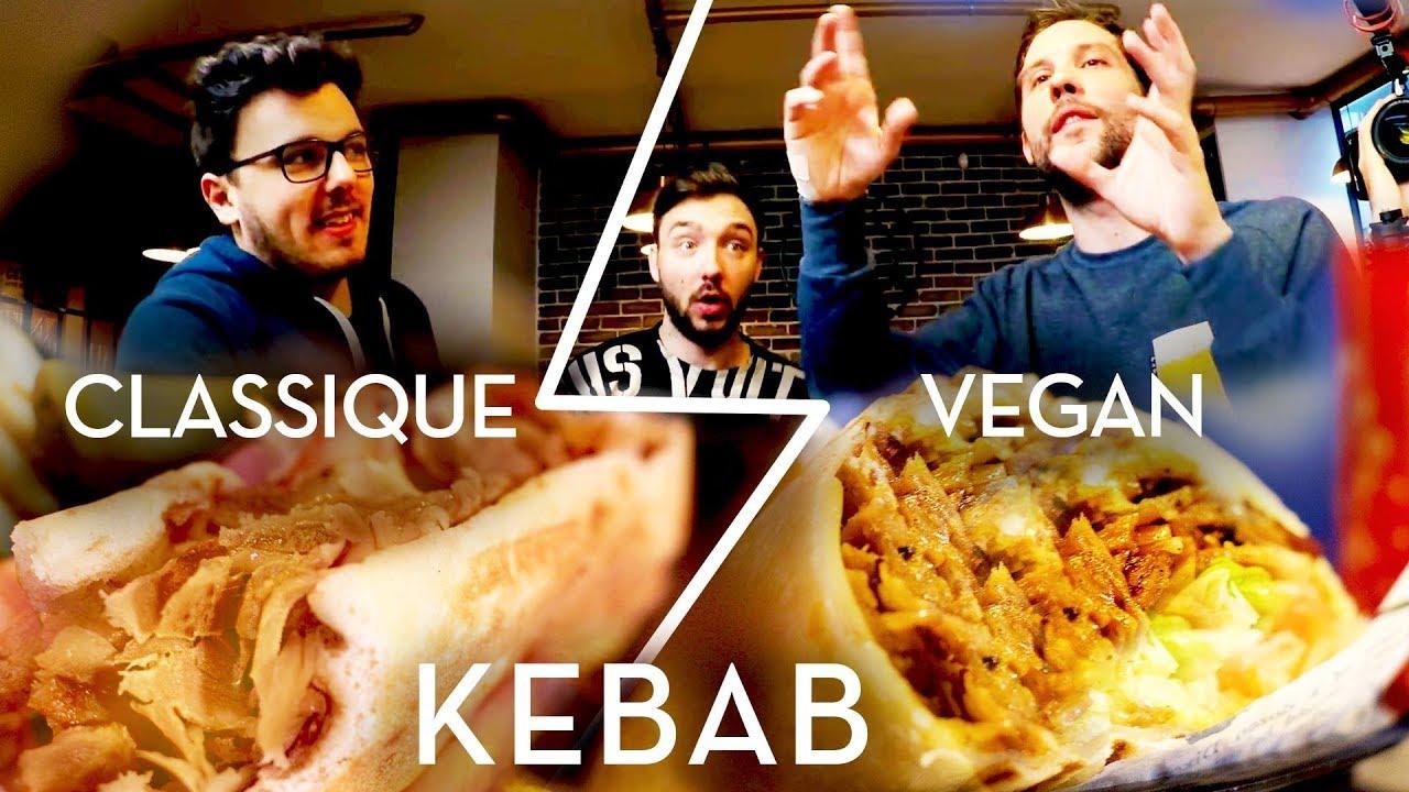 Kebab VEGAN VS CLASSIQUE avec David Lafarge et Siphano