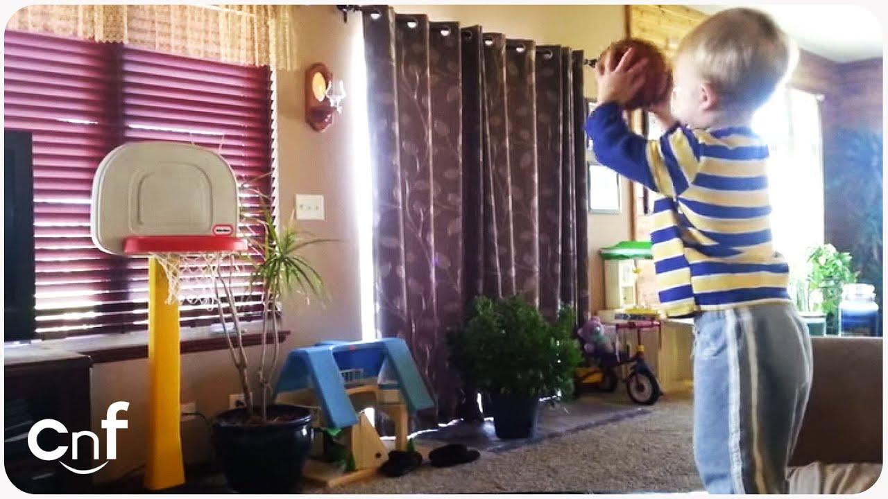 Amazing Baby Basketball Shots | Basketball Prodigy