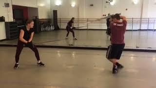 Broadsword fight - Macbeth VS. Macduff