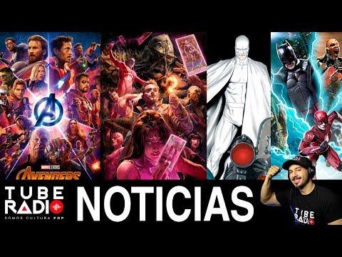 Tube Radio: Vengadores 4, Infinity War, Justice League Dark, Flashpoint, Indiana Jones