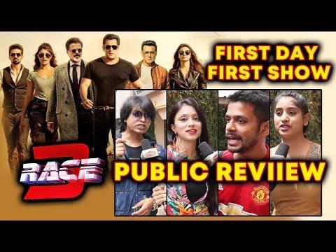RACE 3 PUBLIC REVIEW | First Day First Show | Salman Khan