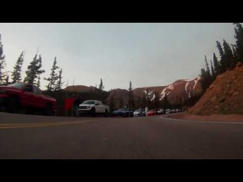 1st qualifying session 2017 Pike Peak International Hill Climb 5:30am MT