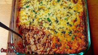 Bolognese Rice Bake - Recipe